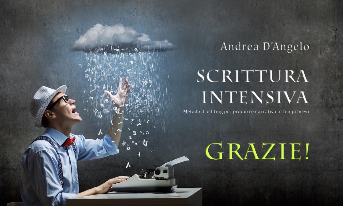 Scrittura intensiva grazie