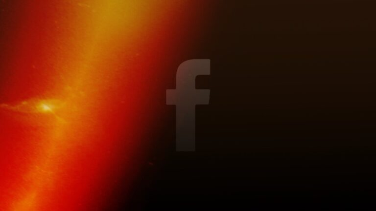 Facebook Blank Black Page